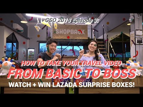 TAKE YOUR TRAVEL VIDEO FROM BASIC TO BOSS + GIVEAWAY | SHOPBACK CSO EP 3