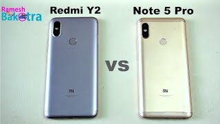 Redmi Y2 vs Redmi Note 5 Pro Speed and Camera Comparison