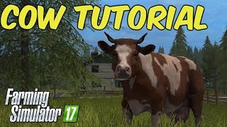 Farming Simulator 17 - Cow/Mixed Rations Tutorial