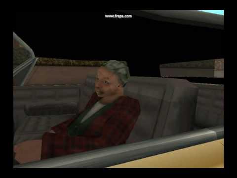 Grandma Lowrider GTA San Andreas