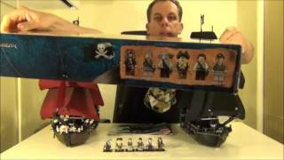 Lego POTC Pirates Of The Caribbean Black Pearl set 4184 review