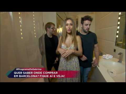 Durante viagem, Sabrina Sato e Rodrigo Capella mostram hotel de luxo em Barcelona