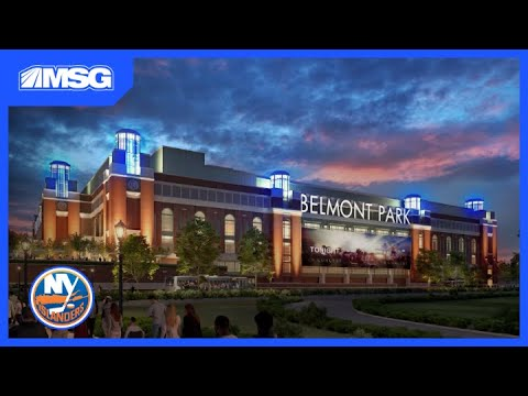 Excited Fans Gather For Islanders Groundbreaking At Belmont   New York Islanders