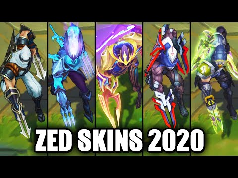 All Zed Skins Spotlight 2020 (League of Legends)