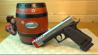 Контрольная закупка - Игрушечное оружие, Пистолет с лазером и электронной мишенью