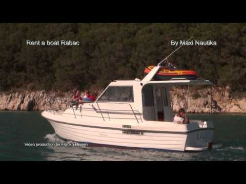 """RENT A BOAT IN RABAC """"ADRIATIC 800"""""""