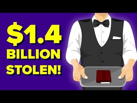 The Waiter Who Stole $1.4 Billion