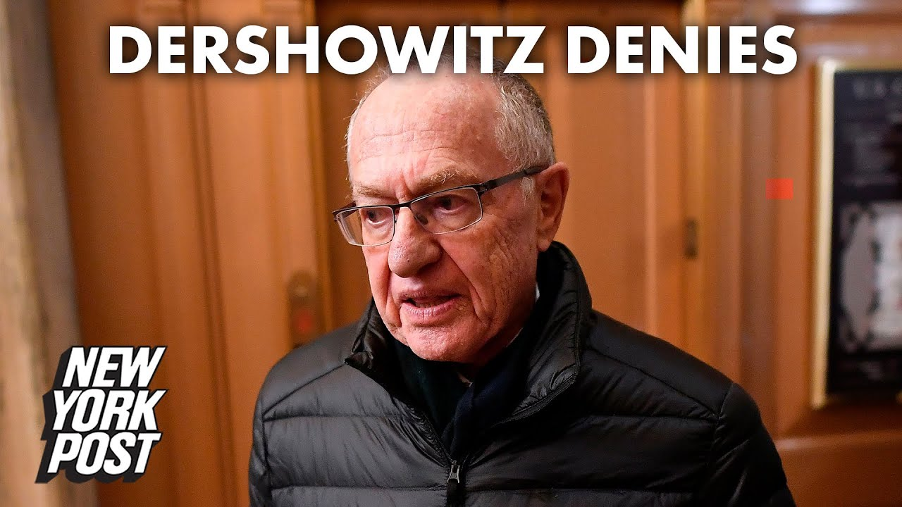 Alan Dershowitz defends himself after name surfaces in Maxwell, Epstein documents | New York Post