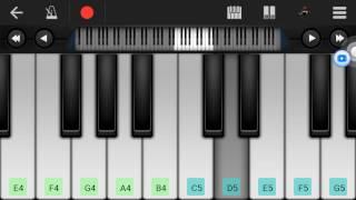 tor ek kothay piano tutorial song