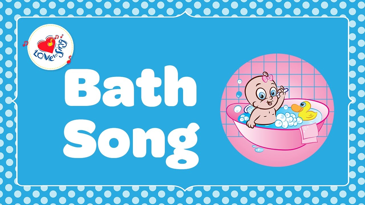 Splish Splash In The Bath Song Kids Nursery Rhymes Children Love To Sing