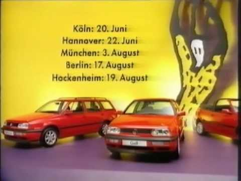 VW Golf Rolling Stones Collection 1995