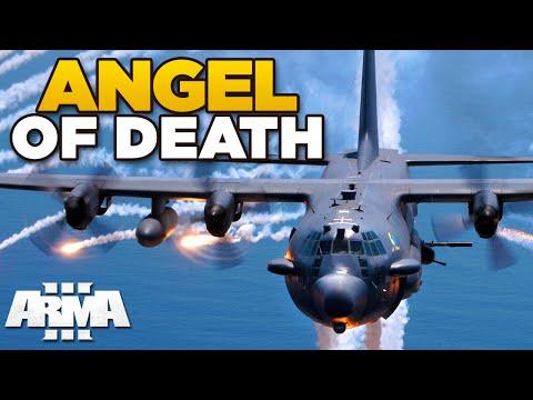 ANGEL OF DEATH | ARMA 3 - AC-130 Spectre [USAF mod]