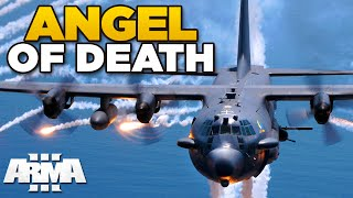 ANGEL OF DEATH | ARMA 3 - AC-130 Spectre [USAF mod]