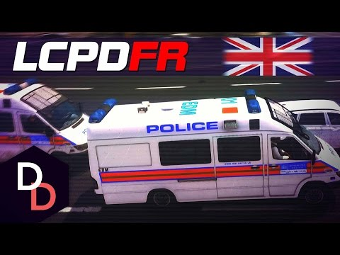 LCPDFR 1.1 The British way! - Day 103 - Met Police TSG Patrol