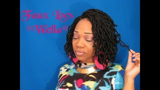 Something different *Zury Sis Wavy Curly Faux Locs **WELLA** Samsbeauty.com
