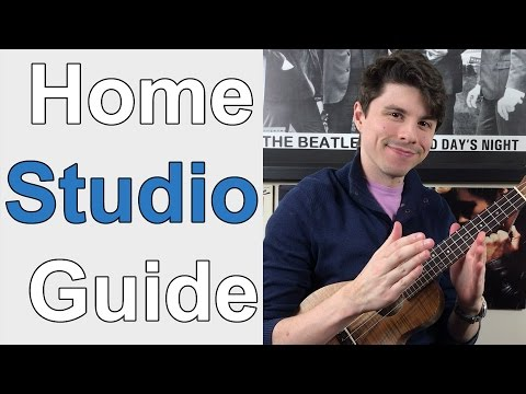 Top 10: Ukulele Recording Gear // Build Home Studio (Audio & Video)