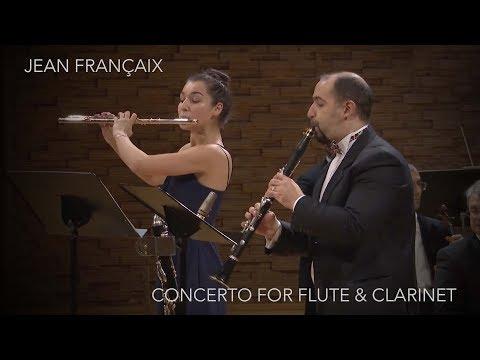 Sofia Viland & Vitaly Papyrin: Jean Françaix - Double Concerto for Flute, Clarinet and Orchestra