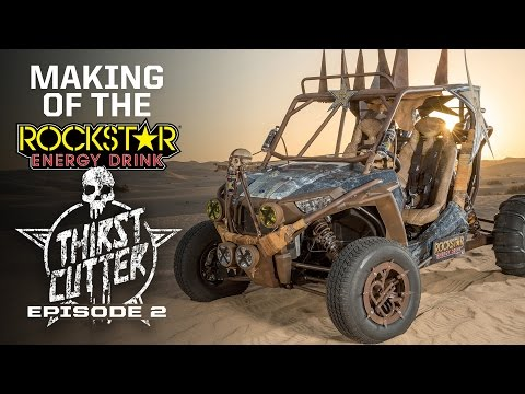 Making of the Rockstar Energy Drink Mad Max Thirstcutter - Part 2