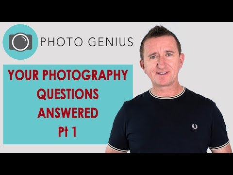 Photography Q&A Pt 1 - Your photography and camera gear questions answered.