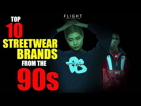 Top 10 Streetwear Brands From the 90s