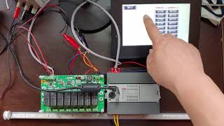 LS XGB PLC 릴레이보드 제어 설정(LS XGB …