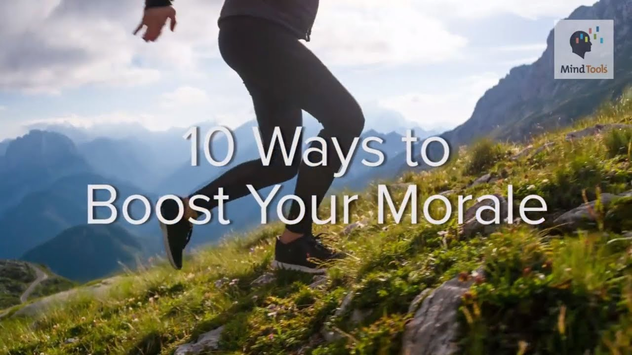 Top 10 Personal Morale Boosters - Stress Management From