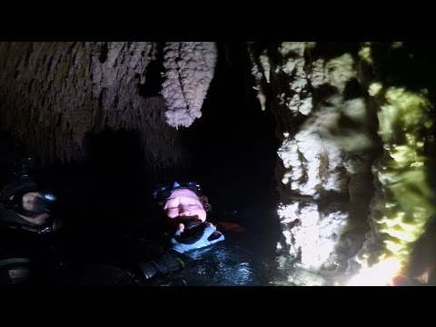 GoPro: Cave Divers Relive Scary Incident