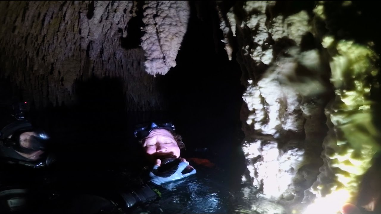Divers Watch Gopro: Cave Divers Relive Scary Incident - Youtube