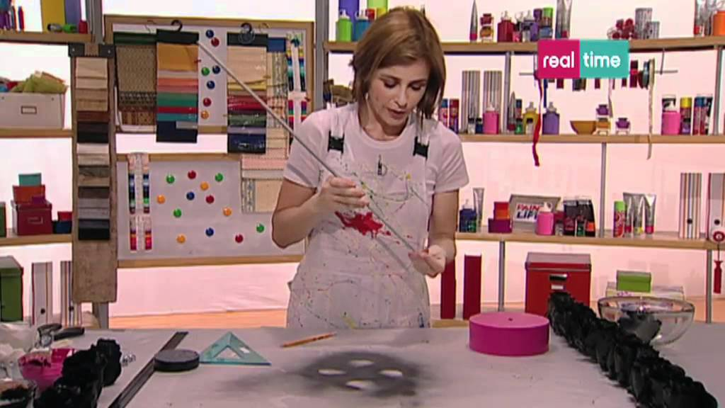 Paint your life - Lampada con fiori di stoffa - YouTube