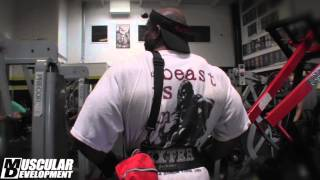IN THE TRENCHES - DEXTER JACKSON TRAINS BACK
