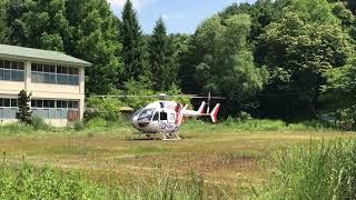 説明 山形県の管理するドクターヘリの離陸動画です。 ドクターカー支援...
