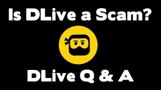 DLive + Lino Q & A || Is DLive a Scam?