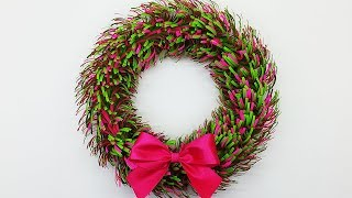 Paper Wreath for Christmas | DIY Christmas Decorations Ideas