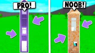 NOOB VS PRO IMPOSSIBLE 1x1 HOUSE CHALLENGE ON BLOXBURG! (Roblox)
