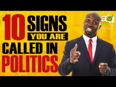 10 Signs You Should Become A Politician