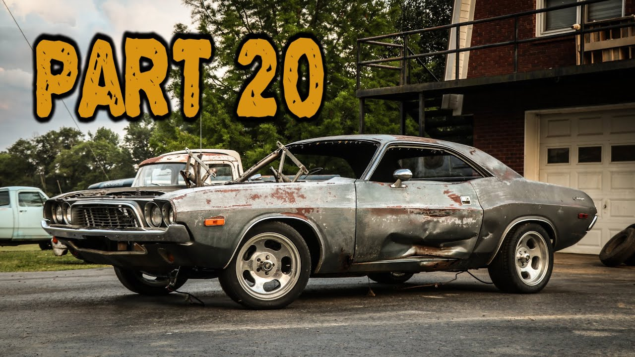 ABANDONED Dodge Challenger Rescued After 35 Years Part 20: HEMI Engine Tear Down!