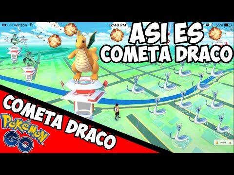 ATACANDO con COMETA DRACO el NUEVO ATAQUE de DRAGONITE Pokemon GO- Cometa Draco mejor que Enfado ?