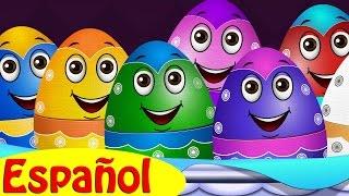 huevos sorpresas animales de la granja | Los Sonidos de los ...