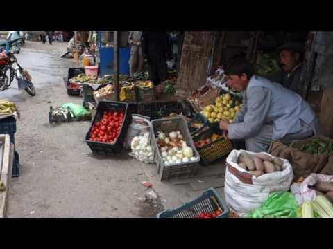 Bamiyan (Afghanistan) – Le bazar