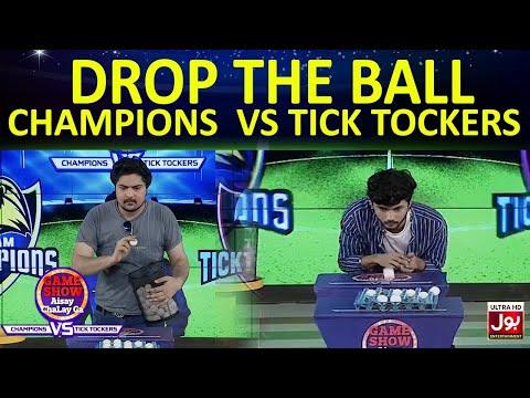 Drop The Ball    Game Show Aisay Chalay GaLeague   TickTock Vs Champion