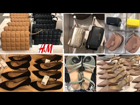 H&M NEW COLLECTION BAGS & SHOES & ACCESSORIES / MARCH 2021