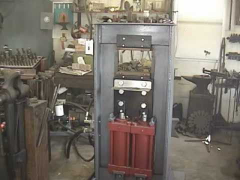 Homemade Hydraulic Pump >> Hydraulic Forging Press: Part 1 - YouTube