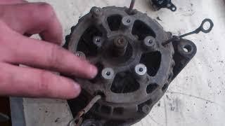 Ремонт генератора ГАЗель. Низкое напряжение заряда.
