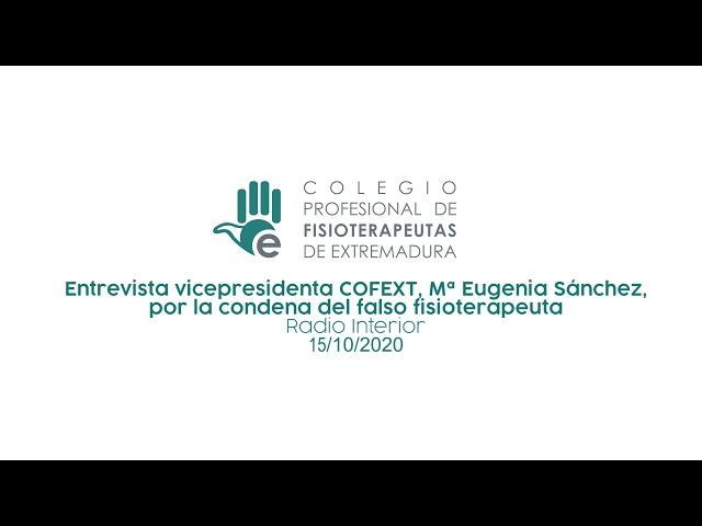 Entrevista Falso fisioterapeuta - Radio Interior