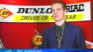 Neil Shanahan - 1998 Dunlop Driver of the Year Announcement - TV3 News