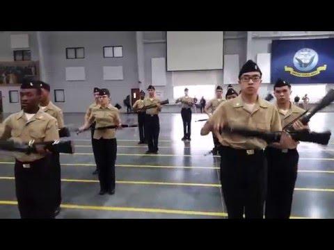Harold L. Richards NJROTC Armed Exhibition Area 3 2015-16