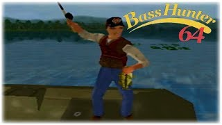 In-Fisherman Bass Hunter 64 Nintendo 64 Gameplay Walkthrough Part 4 - Tournament 4!