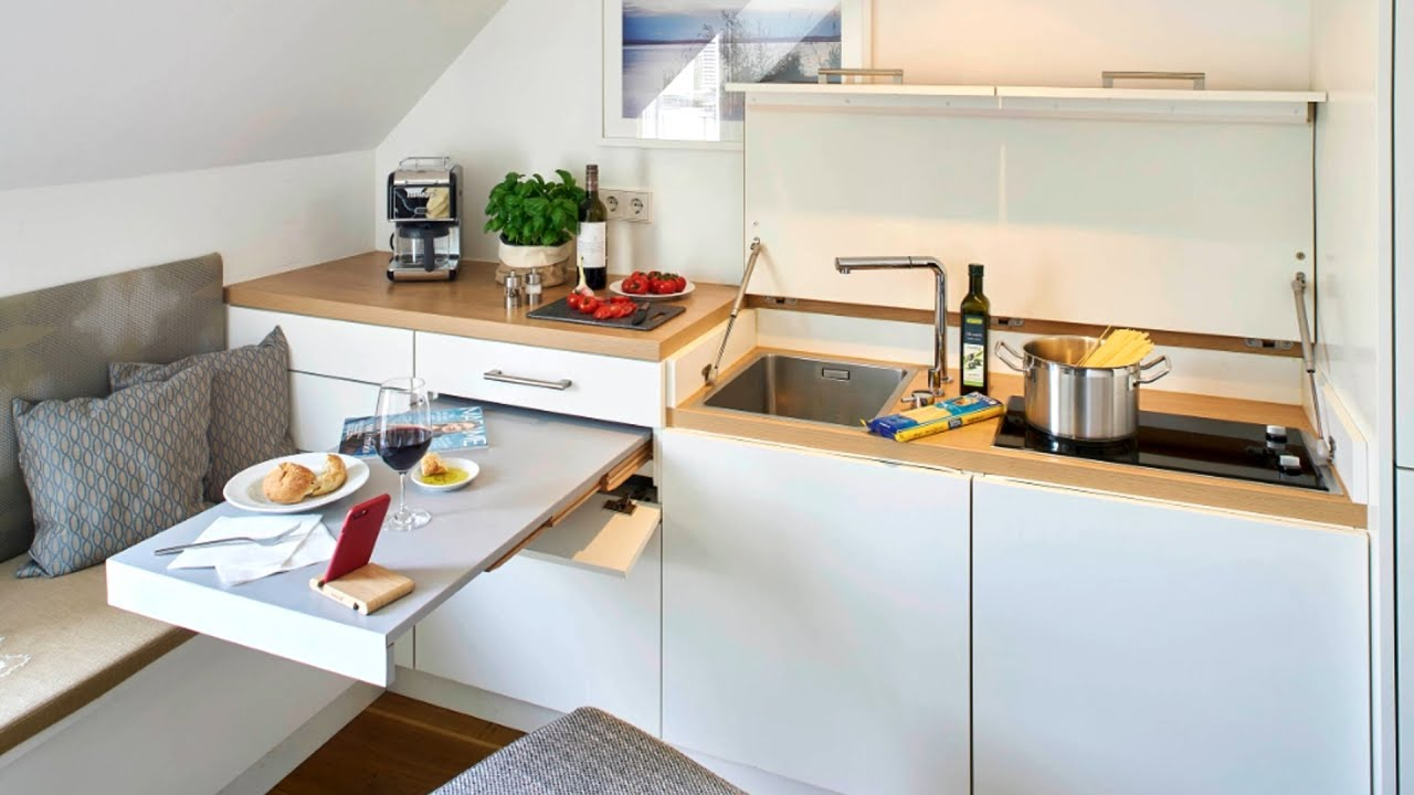 27 Clever Small Kitchen Ideas Youtube