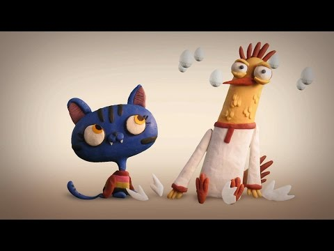 "A Rooster And A Pussy-Cat (Animation Series - ""Mountain Of Gems"")"