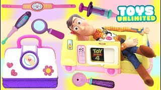 Toy Stoty 4 Woody Visits Toy Hospital Doc Mcstuffins